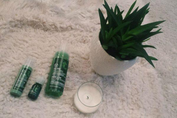 The Body Shop beauty treatment