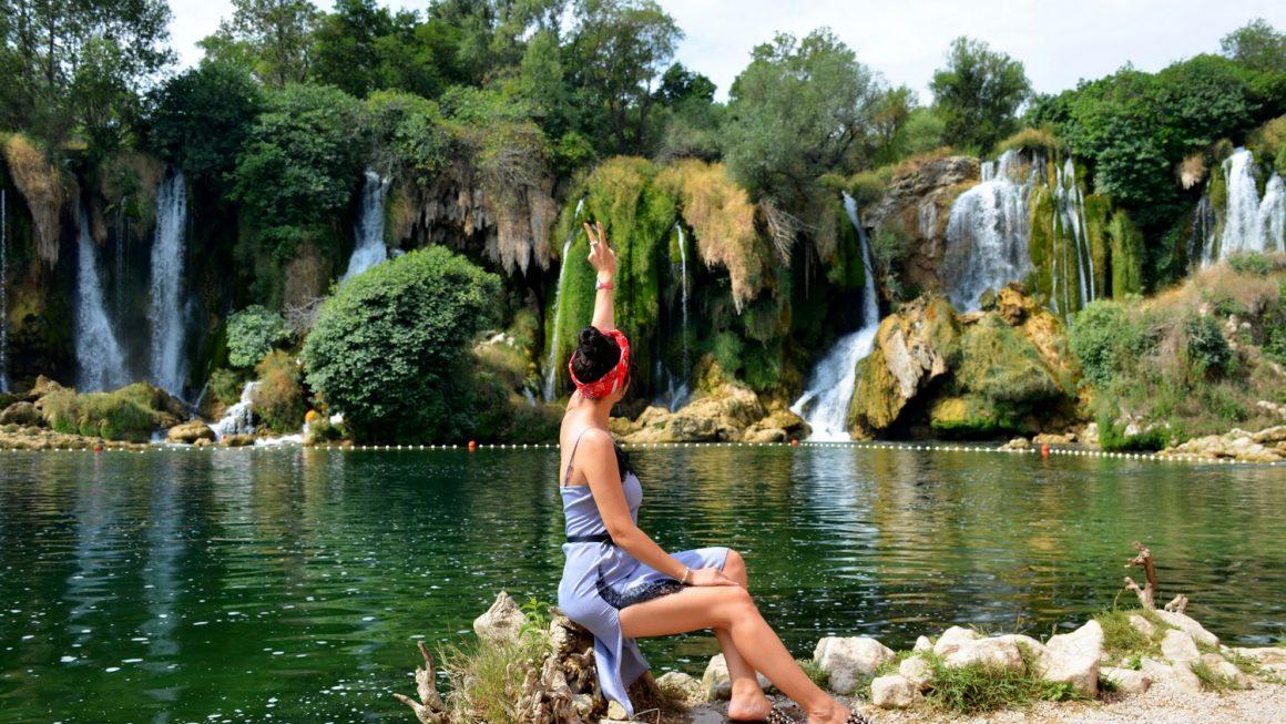 Kravice waterfalls!