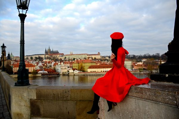 Mornings on Charles Bridge