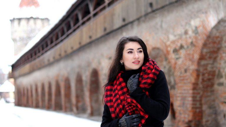 It's Finally Snowing in Sibiu 1