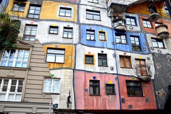 Meet me at the Hundertwasser House