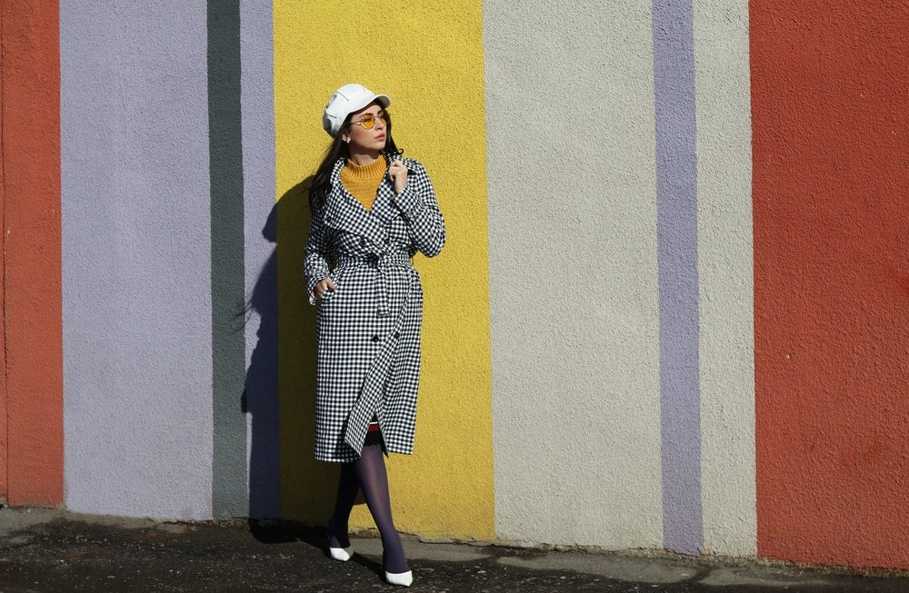 A must have this Spring: The Plaid Trench Coat