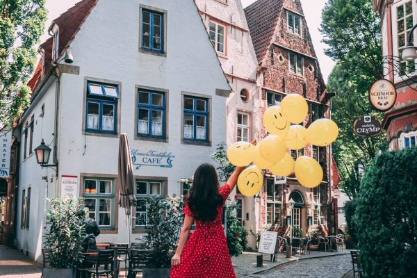Balloons and Happiness in Bremen
